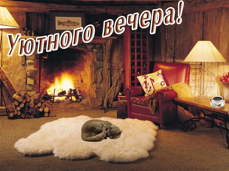 Желаю уютного вечера