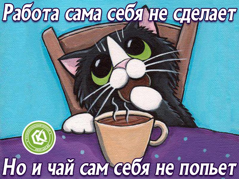 Чай сам себя не попьет