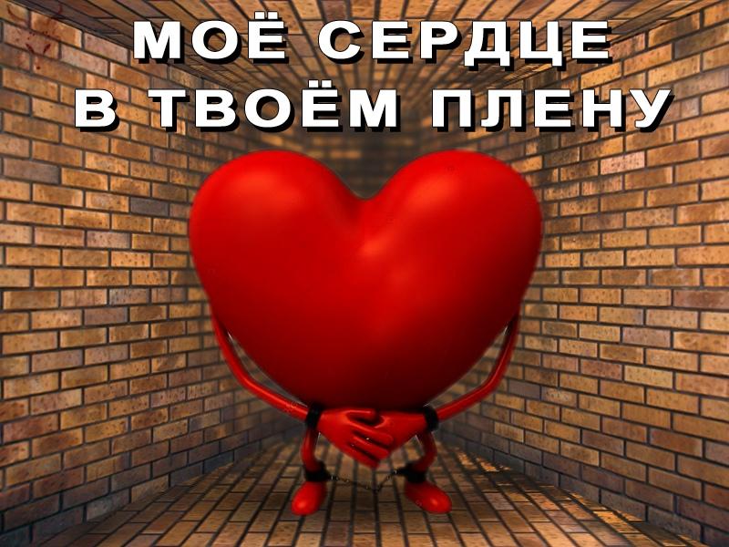 Мое сердце в твоем плену