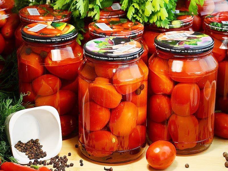 Рецепт помидоров «РИТА»