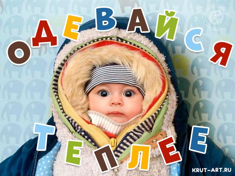 Одевайся теплее смешная картинка